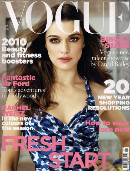 Rachel Weisz does Vogue UK-january 2010