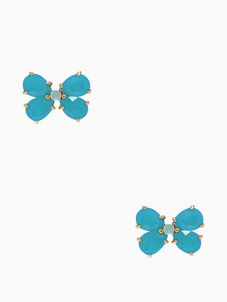 Kate Spade New York Garden Path Blue Stud Earrings ($19, originally $58)