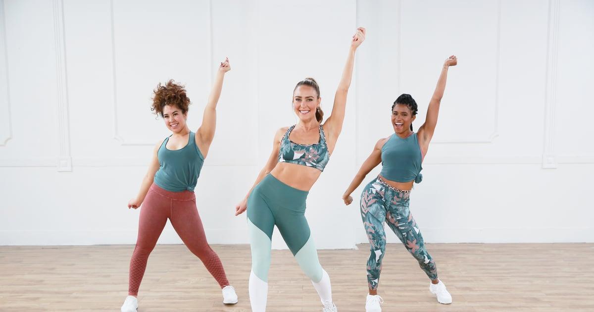 Entraînement de 30 minutes de cardio-dance et bar toning   – fitness