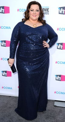 Designer of Melissa McCarthy's Blue Sequin Dress at the Critics' Choice Awards