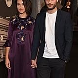 Jamie Dornan and Amelia Warner at British Film Awards 2016