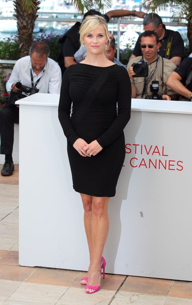Reese Witherspoon in Versace at 2012 Cannes Film Festival
