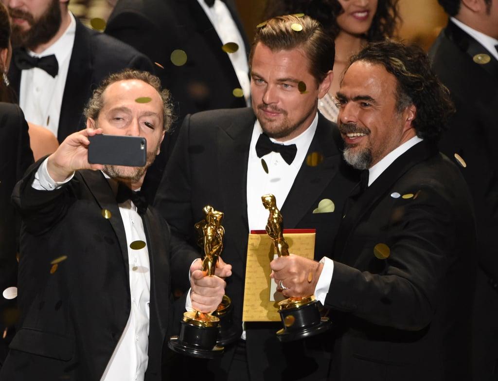 Taking a Selfie With Leonardo DiCaprio