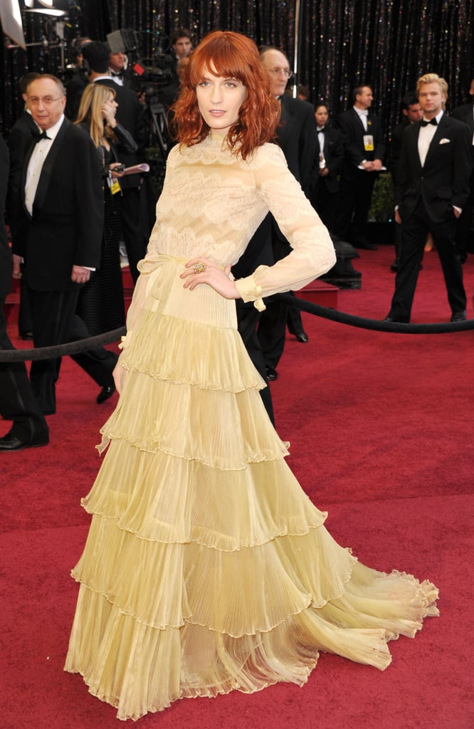 Florence Welch at the Valentino Academy Awards