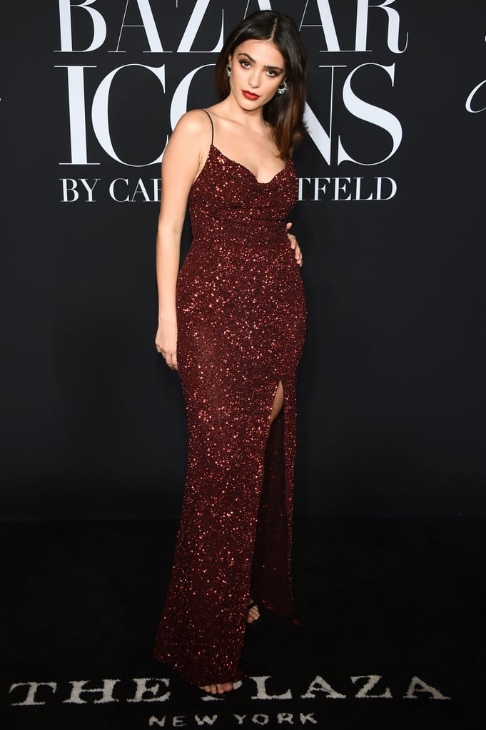Luna Blaise at the Harper's Bazaar ICONS Party During New York Fashion Week