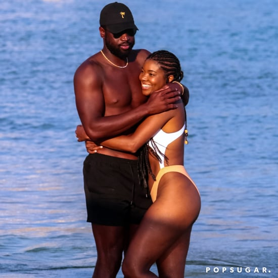 Dwyane Wade and Gabrielle Union in Greece August 2017