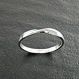 KRAMIKE Mobius RingTwist Band Ring