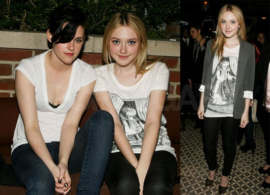 Photos of Kristen Stewart and Dakota Fanning at The Runaways Afterparty in New York City