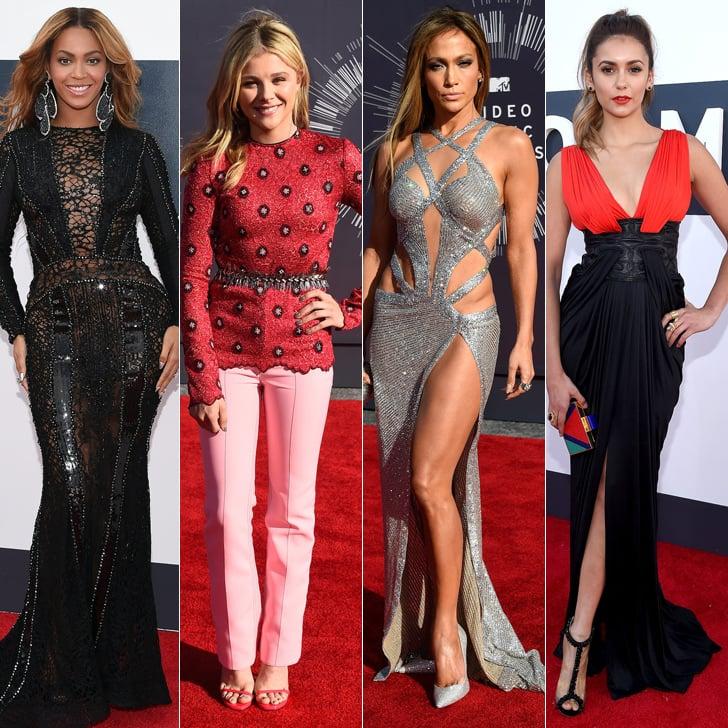 VMAs 2014 Red Carpet Dresses