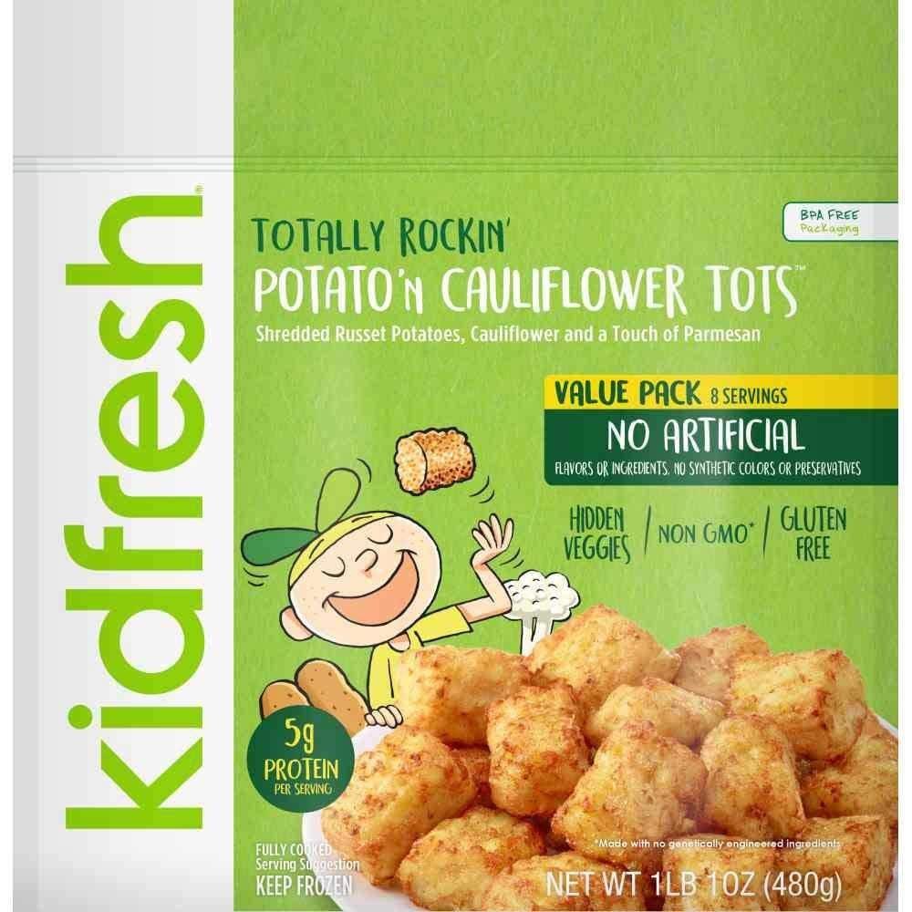 Hash Browns: Eat Kidfresh Potato'n Cauliflower Tots Instead
