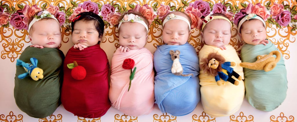 Photographer Captured 6 Baby Girls as Your Favorite Disney Princesses