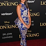 Pictured: Ruth Righi at The Lion King premiere in Hollywood.