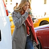 Blake Lively Brings Pups Baxter and Penny Along For Work