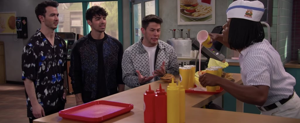 Jonas Brothers Good Burger Sketch on All That Video