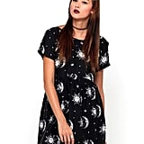 Sun Moon Stars Babydoll Dress ($60)
