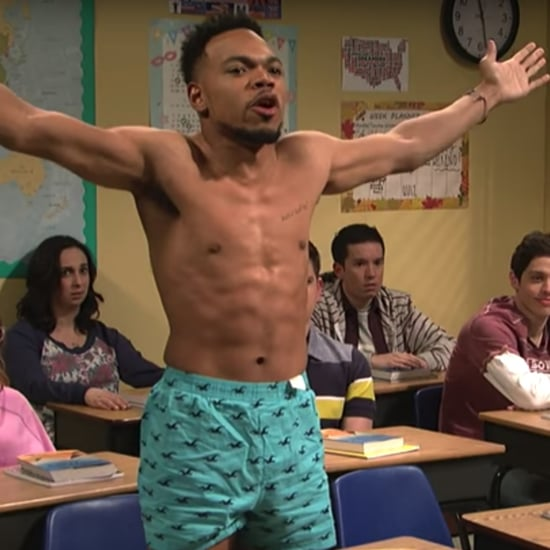 Chance the Rapper Career Day SNL Skit Video