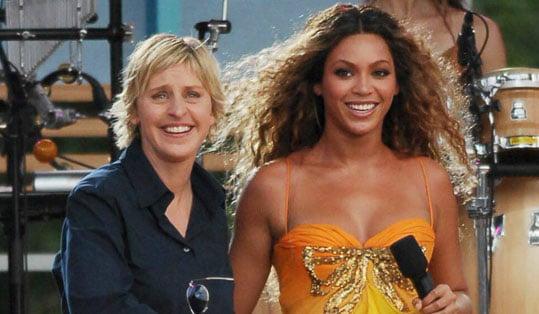 Beyonce Opens Up To Ellen