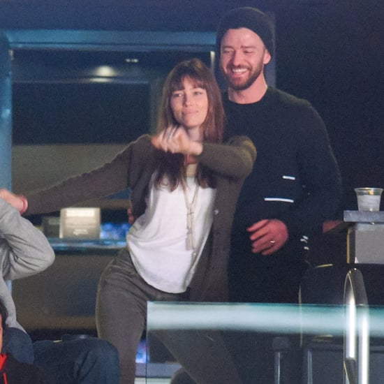 Justin Timberlake Jessica Biel at Lakers Game January 2017