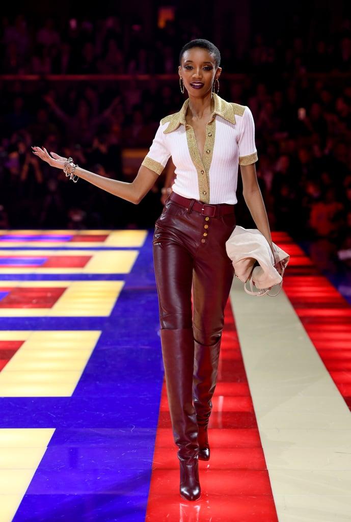 Tommy X Zendaya Paris Fashion Week Show 2019 Popsugar Fashion Photo 14