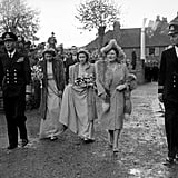 Patricia Mountbatten and Lord Brabourne, 1946