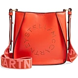 Stella McCartney Logo Alter Nappa Faux Leather Crossbody Bag