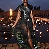 Lupita Nyong'o Sat in the Front Row