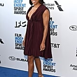 Regina King at the 2019 Independent Spirit Awards