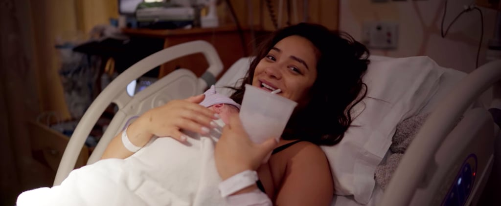 Watch Shay Mitchell's Labor and Delivery YouTube Video