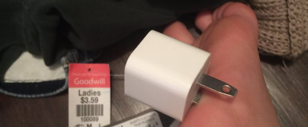 This Teen's Foot Was Punctured by Her Phone Charger, but That's Not Even the Grossest Part
