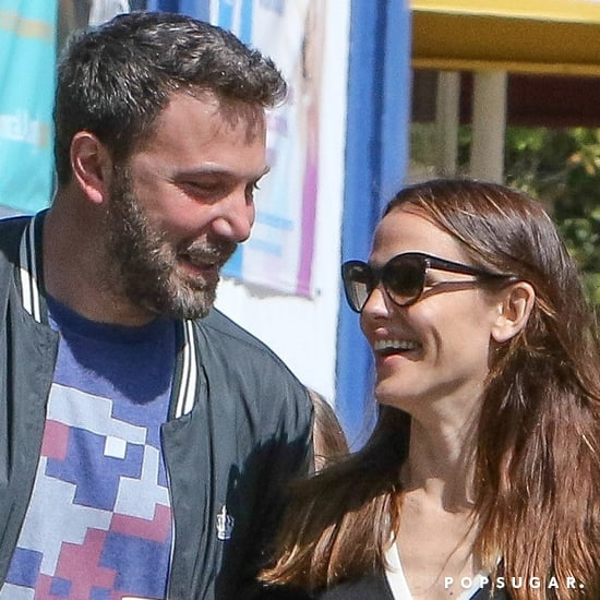 Ben Affleck and Jennifer Garner at Church in LA March 2017