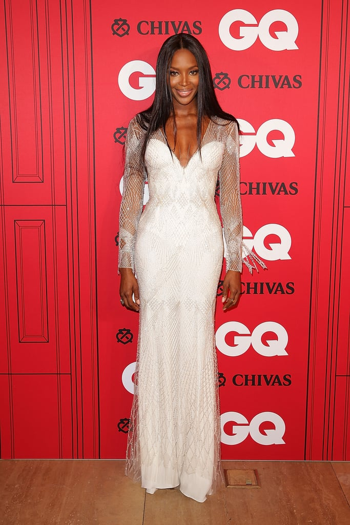 Naomi Campbell at the GQ Men of the Year Awards in Sydney.
