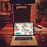 Make your work life easier by organizing your desktop folders.  Source: Instagram user juliansantaana