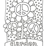 Get the coloring page: Garden
