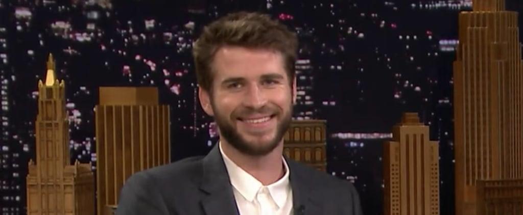 Liam Hemsworth on The Tonight Show February 2019