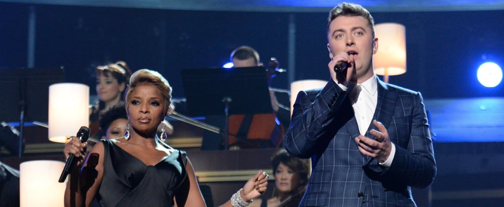 "Sam Smith and Mary J. Blige Singing ""Stay With Me"""