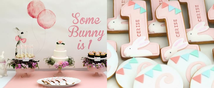 bunny first birthday party ideas popsugar moms. Black Bedroom Furniture Sets. Home Design Ideas