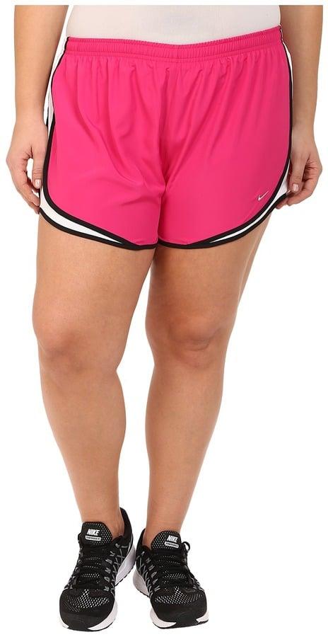 nike tempo plus-size dri-fit track shorts ($32) | running shorts
