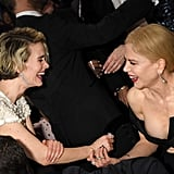 Pictured: Nicole Kidman and Sarah Paulson