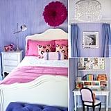 Kids' Rooms: A Pink, Purple, and Posh Big-Girl's Room