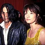 Ellen Barkin and Johnny Depp