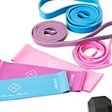 Alexia Used the Light Pink Mini (or Booty) Band For These Exercises