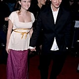 The two held hands at the Cruel Intentions premiere in April 1999.