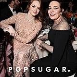 Pictured: Emma Stone and Olivia Colman