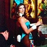 She went undercover as a Playboy bunny.