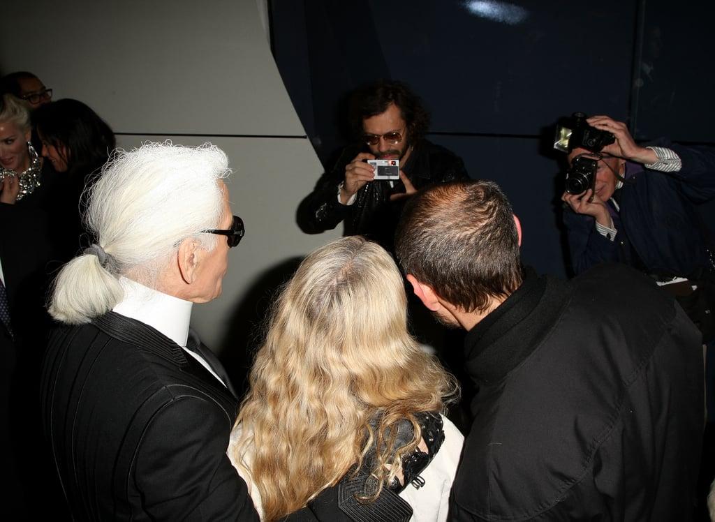 Olivier Zahm, Karl Lagerfeld, Franca Sozzani, Terry Richardson.