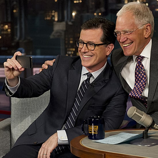 Stephen Colbert on Late Show With David Letterman 2014