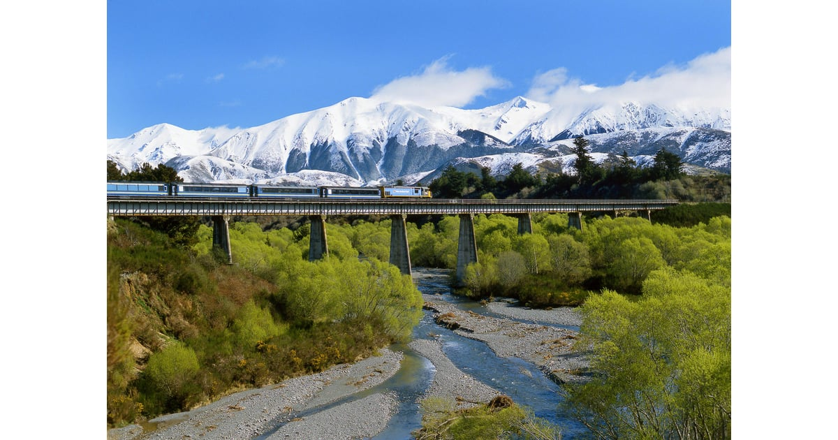 New zealand tranzalpine national geographic best train for Best train vacations in the world