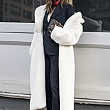 """The """"Off-the-Shoulder Slouch"""" on the Street"""