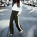 Track Pants and Heels