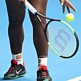 Serena Williams's Green Bodysuit at the Australian Open 2019